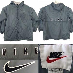 Vintage • Nike 90s Snap Button Logo Jacket